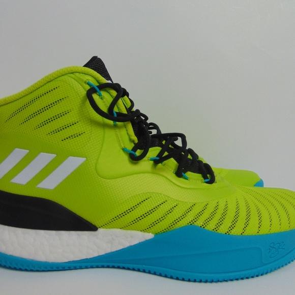 fc1090640b4e adidas Other - Adidas Boost D Rose 8 Men Basketball Shoes Volt